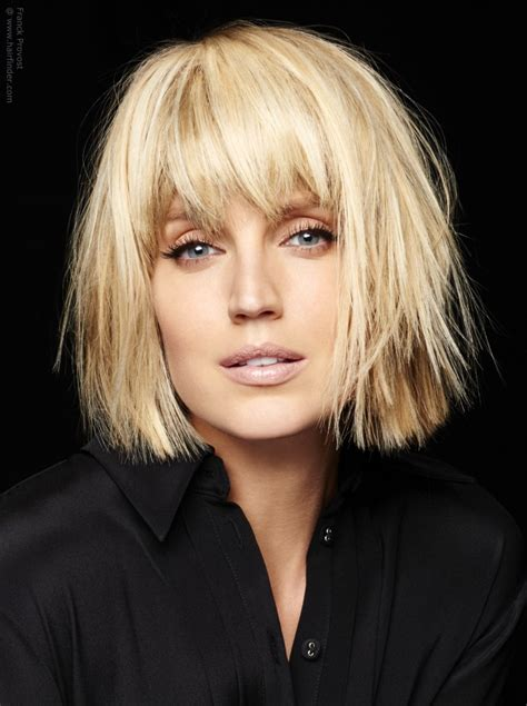 hairstyles for a new haircut modern blonde bob with texture