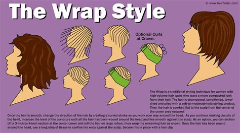 how to care for wrap style cut in bob the wrap hair style