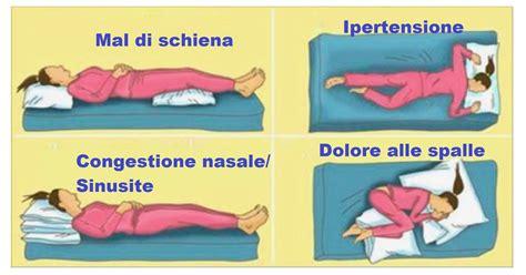 posizione letto per dormire bene la posizione corretta per dormire in base ai nostri