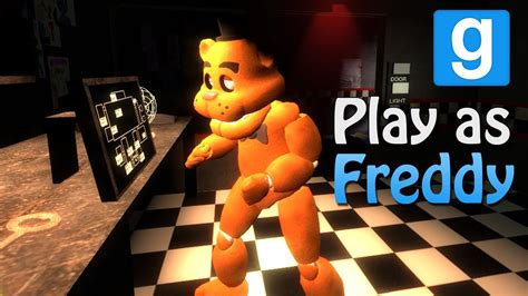 free five nights at freddy s garry s mod game garry s mod playing as freddy five nights at freddy s mod