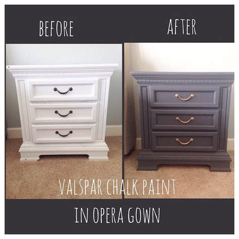 diy chalk paint with valspar 44 best images about chalky paint on theater