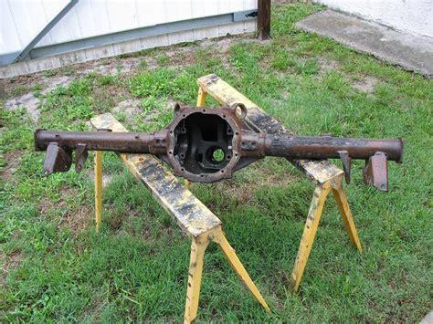 rear axle detailing