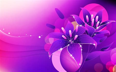 Soft 3d Sculpture Flower Black For Iphone 5 5s T0310 abstract background colorful colors flowers glowing wallpapers pink purple wallpaper