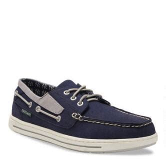 boat canvas detroit men s canvas boat shoes adventure mlb new york yankees