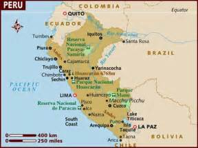 map of south america peru brett and emily in south america where the road won 180 t go