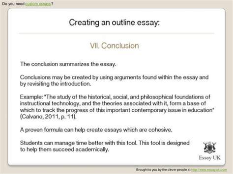 Custom Essays by Custom Essays Creating An Outline Essay