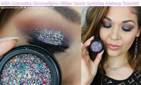 Mba Comsetics by Agape Designs Mba Cosmetics Chromalights Glitter