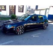 VW Golf Rebaixado Com Rodas Replicas GTI Aro 20