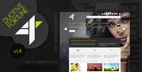 themeforest yin yang duotive fortune wordpress theme by duotive themeforest