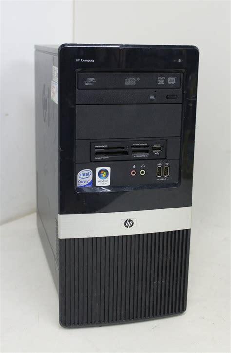Baru Cpu 2 Duo Second Ram 2gb hp compaq dx2400 intel 2 duo 2 46ghz 2gb ram microtower computer no hd ebay
