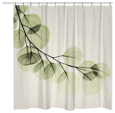 contemporary shower curtains laural home eucalyptus shower curtain view in your