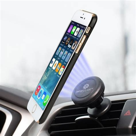 Bestmagnetic Car Air Vent Mount Holder For Smartphone Black Hita wizgear universal air vent magnetic car mount holder for