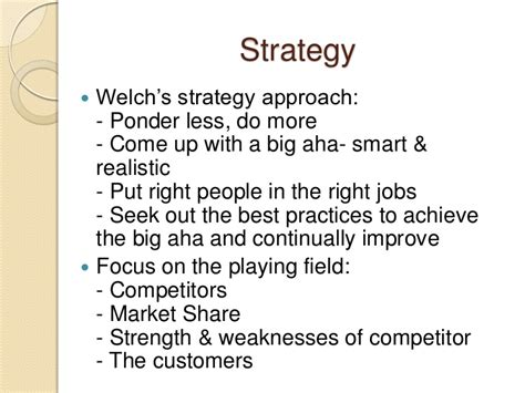 Welch Mba Book Review by Welch Winning Book Review