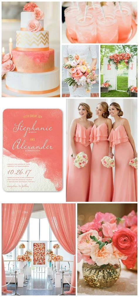 25  best ideas about Coral wedding bouquets on Pinterest