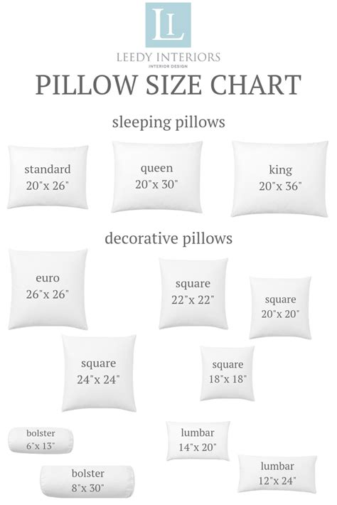 Size Pillows by Pillow Talk Tips And Tricks For The Pillow