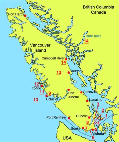 vancouver island canada map wilson s bird wildlife photography vancouver