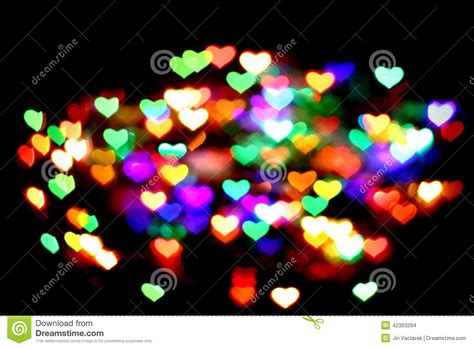 imagenes de corazones abstractos el color abstracto de la navidad enciende el fondo