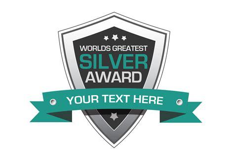 vector template 187 award shield design vector free