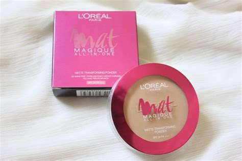 L Oreal Mat Magique All In One l oreal mat magique all in one matte transforming powder