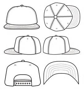 Baseball Hat Template best photos of blank snapback stencil snapback hat