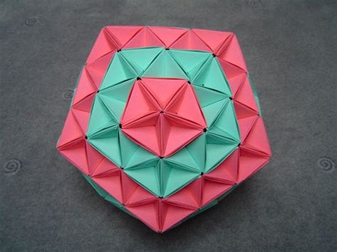 Modular Origami Icosahedron - 87 best folded paper studies images on origami