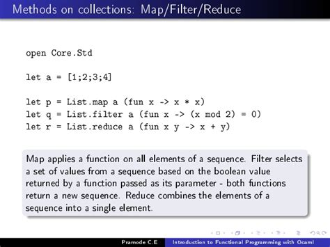 list map ocaml introduction to functional programming using ocaml