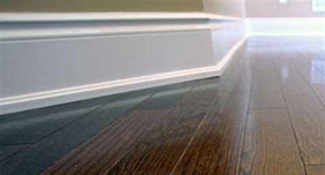 how should baseboards be baseboards and mouldings store in toronto