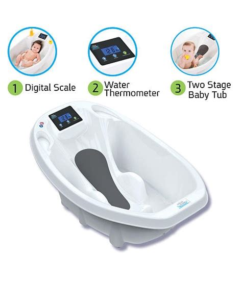 aqua scale 3 in 1 infant bathtub aquascale 3 in 1 digital scale water thermometer and infant tub theshopville com