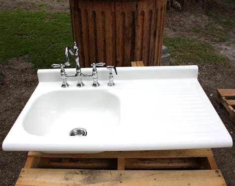farm sink with drainboard fireclay kitchen sink with drainboard
