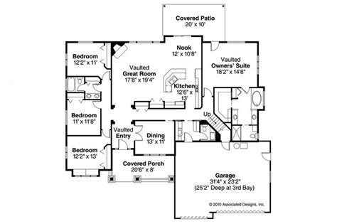 home architecture ranch house plans cameron associated designs 205 best featured home plans images on pinterest floor