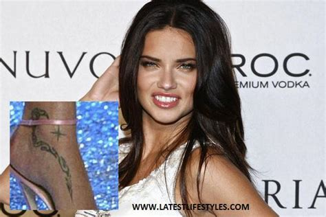 adriana lima tattoo tattoos designs pics with style