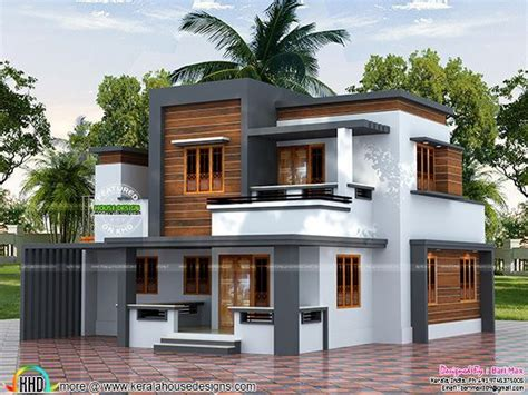 Home Design Cost Saving Tips 22 5 Lakh Cost Estimated Modern House Kerala Home