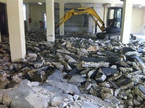 demolizione pavimento demolizione e rifacimento pavimento industriale in