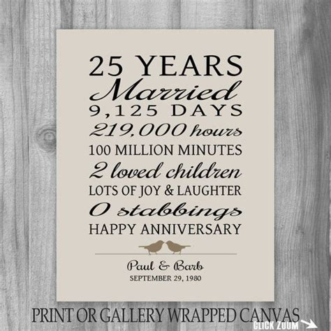 Wedding Anniversary Speech For Parents by Best 25 25th Anniversary Gifts Ideas On