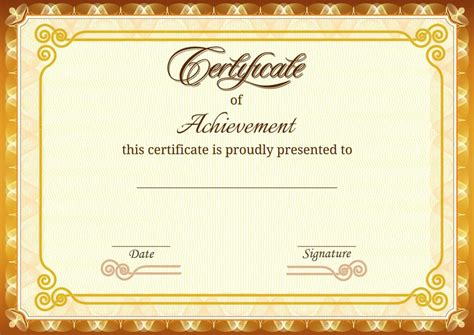 certificate template design home design certificates as awards certificate printing