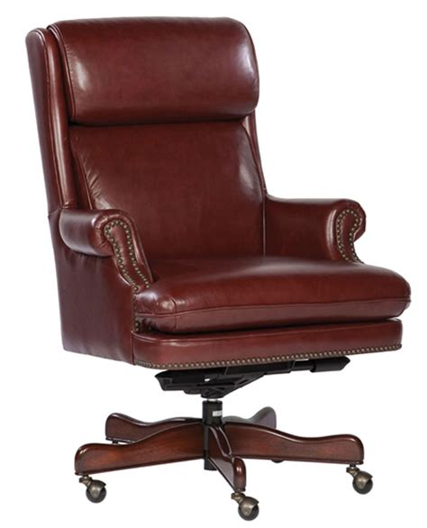 Real Leather Computer Chair Merlot Genuine Leather Executive Office Desk Chair Ebay