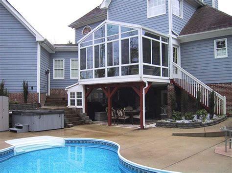 porch patio custom enclosures for your deck porch or patio