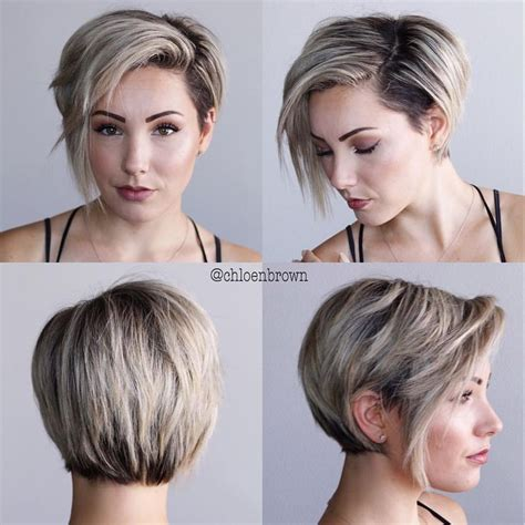 how to stye short off the face styles for haircuts 2 085 likes 50 comments chlo 233 brown chloenbrown on