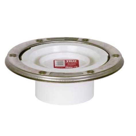 Adjustable Closet Flange by Sioux Chief Tko 3 In Pvc Adjustable Metal Ring Dwv Spigot