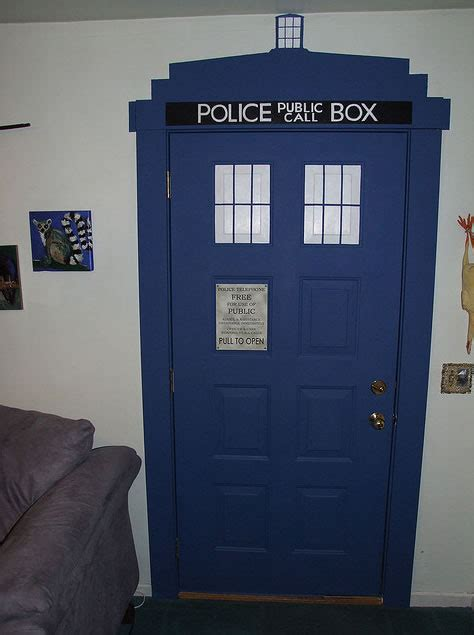 doctor who bedroom door tardis door neatorama