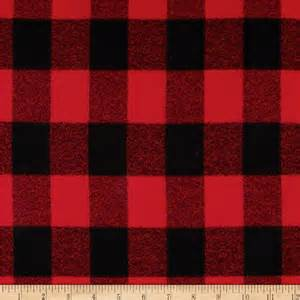 flannel color flannel buffalo plaid black discount designer fabric