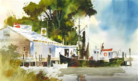 Tony Couch My Favorite Watercolor Artists Pinterest
