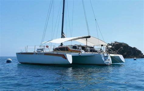 trimaran ocean crossing humidity found in the amas of a racing cruising trimaran