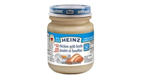 heinz baby food printable coupons heinz canada recalls chicken with broth baby food the