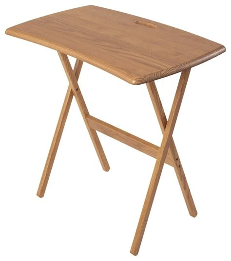 portable folding work and laptop desk by manchester wood
