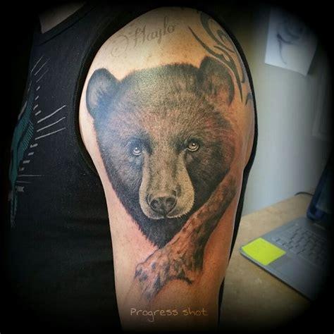 bamboo tattoo process 17 best ideas about black bear tattoo on pinterest bear
