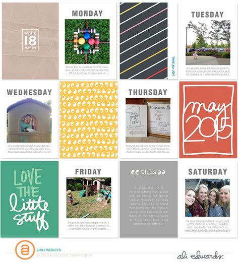 Creative Manifesto By Ali Edwards by 847 Best Digital And Hibryd Clean Layouts Images On