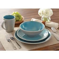 better homes and gardens 16 piece dinnerware set walmart com