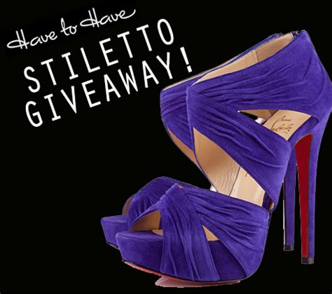 Stiletto Jungle October Reader Contest Winner by To Stiletto Giveaway With Kathy