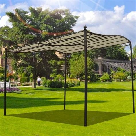 gazebo awning buy garden metal wall gazebo awning shelter door porch 3m